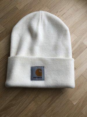 Carhartt Chapeau en tricot blanc cassé acrylique