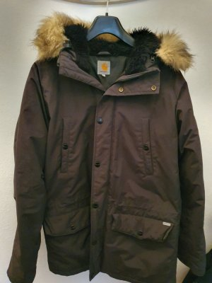 Carhartt Parka anthracite synthetic fibre