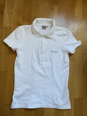 Carhartt Polo Top white-baby blue