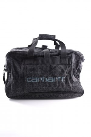 Carhartt Travel Bag black-light grey graphic pattern casual look