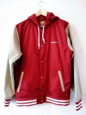 Carhartt Giacca bomber rosso scuro
