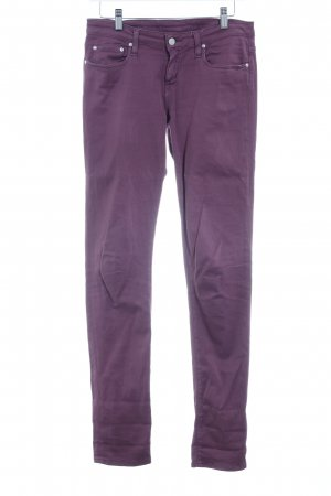 Carhartt Röhrenhose purpur Casual-Look