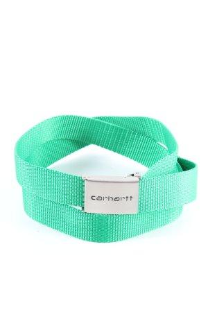 Carhartt Pasek z materiału zielony W stylu casual