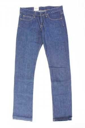 Carhartt Jeans a gamba dritta blu-blu neon-blu scuro-azzurro Cotone
