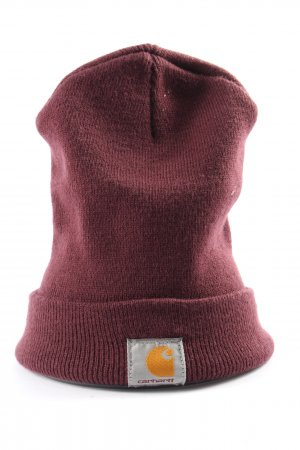 Carhartt Knitted Hat lilac casual look