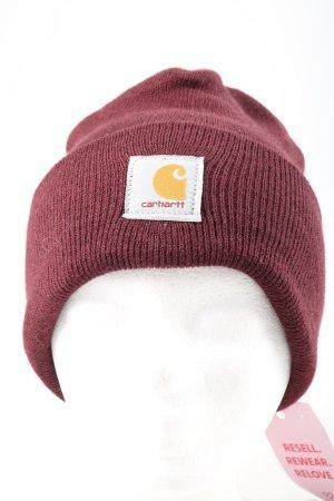 Carhartt Cappello a maglia rosso stile casual