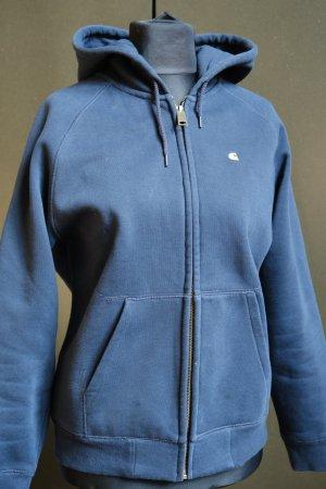Carhartt Chaqueta de tela de sudadera azul oscuro Algodón