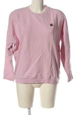 Carhartt Sweatshirt rose élégant