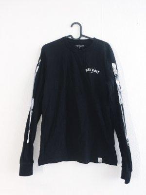 Carhartt Sweatshirt longsleeve schwarz Schrift S