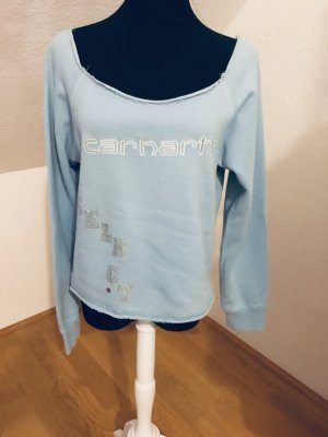 Carhartt Sweatshirt mit Swarovski Aufdruck