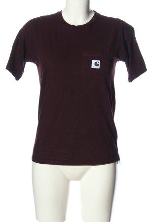Carhartt T-shirt brun style décontracté