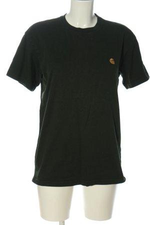 Carhartt T-Shirt khaki-blassgelb Casual-Look