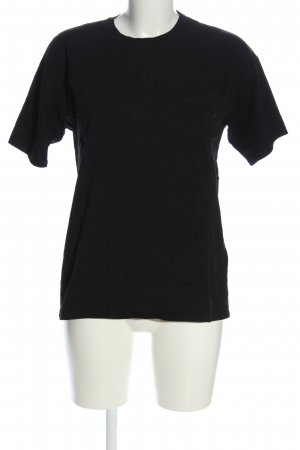 Carhartt T-Shirt schwarz Casual-Look