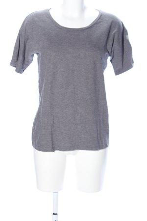 Carhartt T-Shirt hellgrau meliert Casual-Look