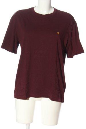 Carhartt T-Shirt rot Casual-Look