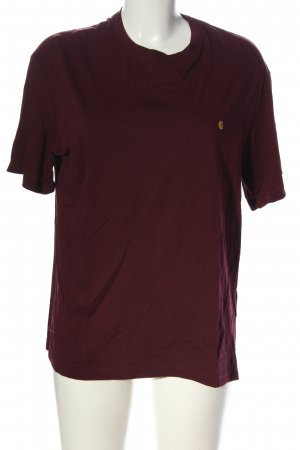 Carhartt T-shirt rosso stile casual