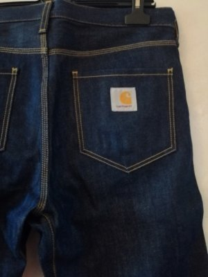 Carhartt Baggy jeans donkerblauw