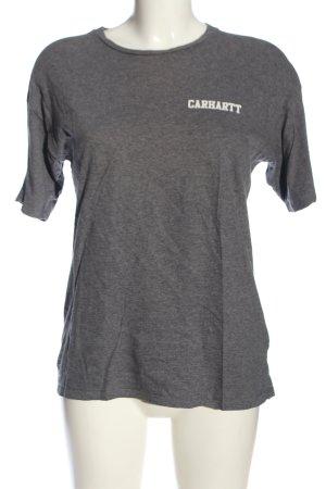 Carhartt U-Boot-Shirt hellgrau meliert Casual-Look