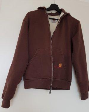 Carhartt Chaleco con capucha marrón Algodón