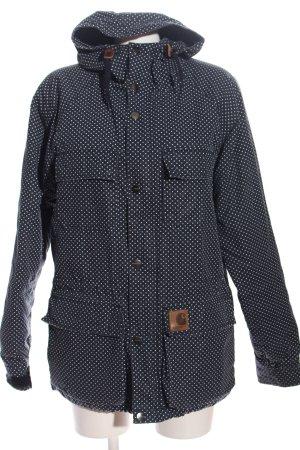 Carhartt Giacca invernale blu-bianco stampa integrale stile casual
