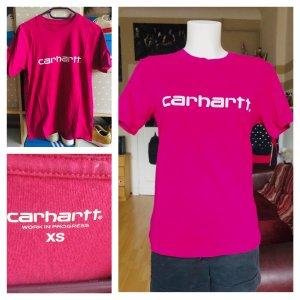 Carhartt WiP Shirt pink weiß unsiex S