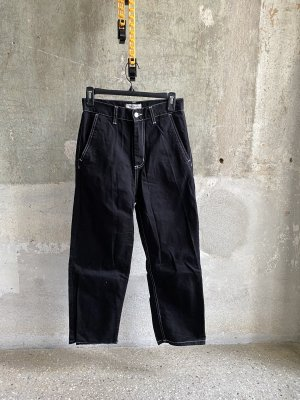 Carhartt Jeans a vita alta nero-bianco