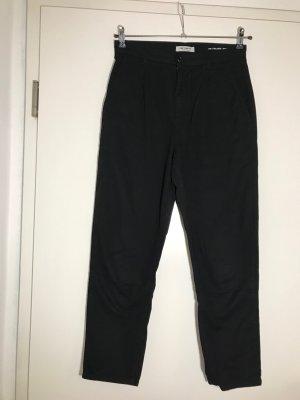 Carhartt Pantalone a pieghe nero Cotone