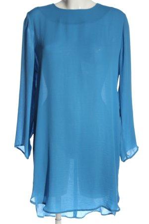 Carin Wester Blusenkleid blau Casual-Look