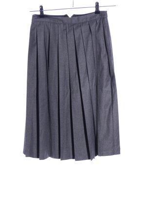 Carin Wester Midi Skirt light grey flecked business style