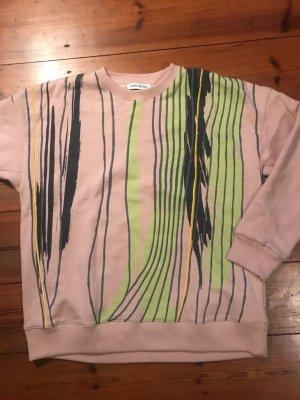 Carin Wester: Pullover/ Pulli/ Sweatshirt - Größe XS, 34/ 36, Streifen, Oversize, One Size
