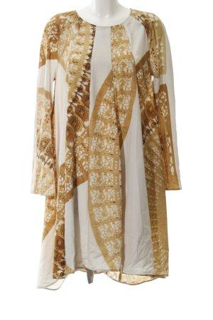 Carin Wester Tunic Dress dark yellow-white elegant