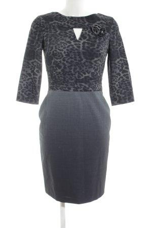 Carla Pencil Dress light grey-black color gradient business style