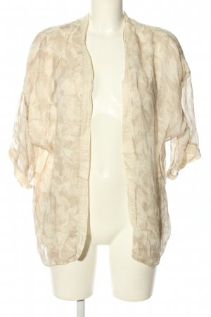 Carla Blouse Jacket cream allover print casual look