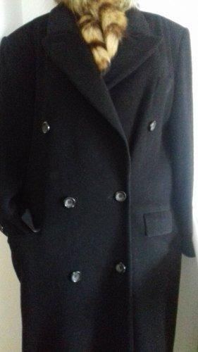 CARLA DEGEN - Blazermantel - Cashmere & Wool -schwarz