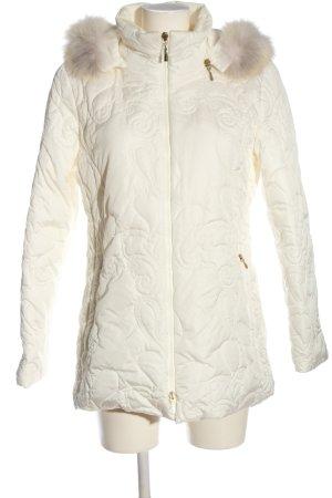 Carla Degen Veste à capuche blanc style décontracté