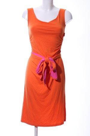 Carla Etuikleid hellorange-pink Casual-Look