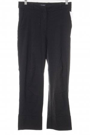 Carla Fasini 7/8 Length Trousers black simple style