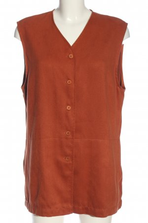 Carla Fasini Sleeveless Blouse light orange casual look
