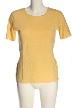 Carla Fasini T-shirt sleutelbloem casual uitstraling