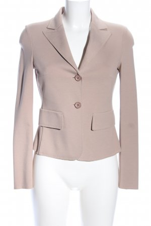 Carla G. Jerseyblazer wollweiß Business-Look