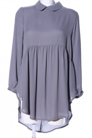 Carla Positano Long-Bluse lila Casual-Look