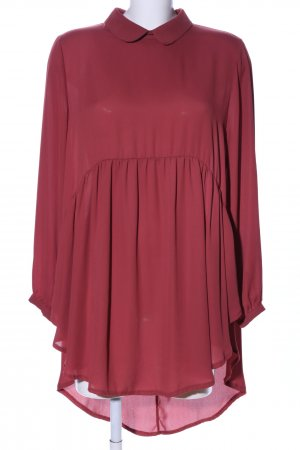 Carla Positano Long-Bluse rot Casual-Look