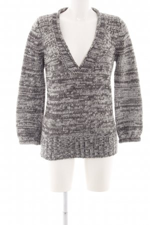 Carling Knitted Sweater silver-colored-light grey flecked casual look