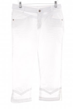 Carlo Colucci 3/4-broek wit casual uitstraling