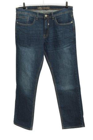 Carlo Colucci Straight-Leg Jeans