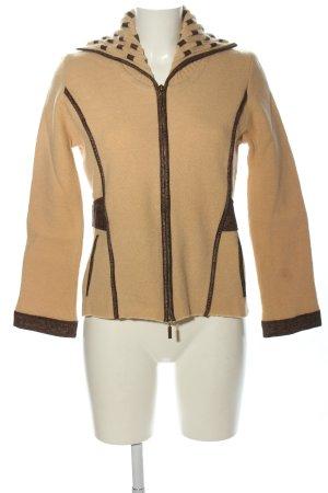 Carlo Colucci Giacca di lana marrone stile casual