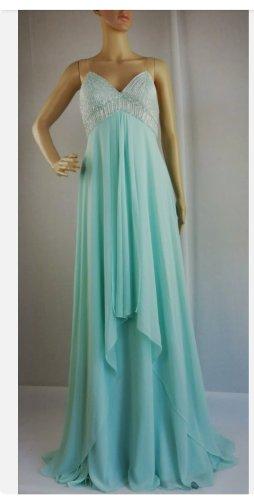 CARLO PIGNATELLI Robe de bal bleu clair polyester