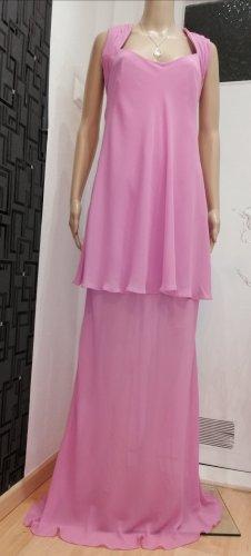 CARLO PIGNATELLI Evening Dress neon pink polyester