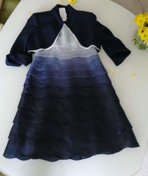 Carlo Pignatelli Luxus Kleid und Bolero Gr. 38
