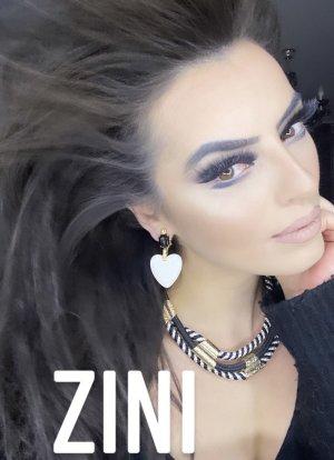 Carlo Zini Clip d'oreille multicolore